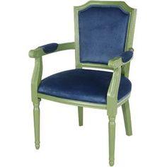 Natalia Velvet Arm Chair