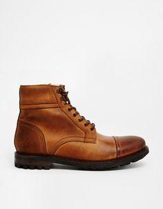 Base London | Base London Cook Shearling Look Boots at ASOS