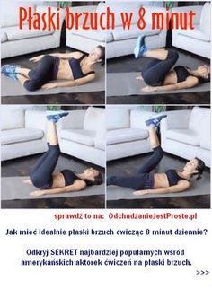 Sekret amerykańskich aktorek na płaski brzuch i szczupłe uda w 8 minut