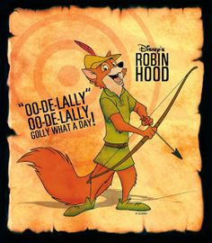 I just watched Robin Hood for the first time in years. I'd forgotten just how absolutely fabulous it is. ^_^