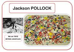 Jackson Pollock - Portrait d& - Jackson Pollock, Pollock Artist, Art History Major, Montessori Art, Atelier D Art, Art Worksheets, Ecole Art, Kindergarten Art, Elements Of Art