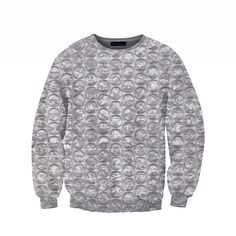 pop me.... squeeze me....  #belovedshirts bubble wrap crew neck / jumper / sweatshirt / pullover / sweater