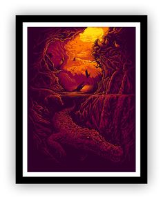 .Mangroves Print by Dan Mumford for PangeaSeed.