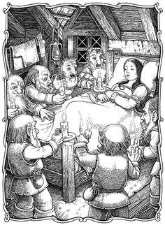 Tomislav Tomic | Faery Tales illustrations