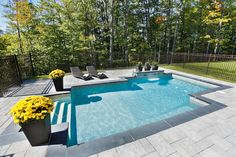 Piscine foyer ext rieur on pinterest above ground pool for Amenagement piscine creusee