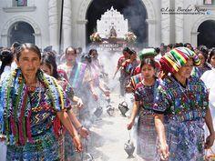 Fest Day in honor of San Juan, San Juan Comalapa, Guatemala