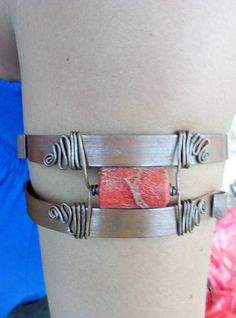 Red coral copper hand made arm band fit to size one of a kind by energywire from Ecommmax. Find it now at http://ift.tt/2rDwfZ9!