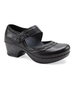 This Black Leather Harlow Mary Jane - Women is perfect! #zulilyfinds I'm in Love with [this] Mary Jane!!!