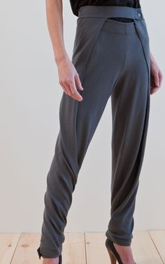 NFP: Look H. Versatile wrap pants