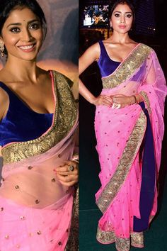 Ravishing Pink Net   Designer Saree With Blouse-JKBR4917