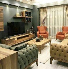 Salon Dekorasyonu için Son Moda Chester Koltuklar - Dekoloji - Ev Dekorasyon Fikirleri Blogu