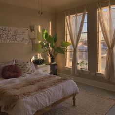 minimalist apartment vibe, simple apartment decor - Home Decor Bedroom Inspo, Bedroom Decor, Bedroom Ideas, Bedroom Curtains, Bedroom Table, Cosy Bedroom, Cozy Room, Bedroom Storage, Bedroom Furniture