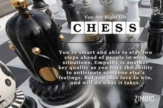I took Zimbio's board game quiz and I got Chess. Which game fits you best?