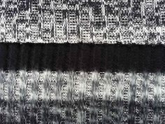 angerauter Strick Zopfmuster Streifen 4 cm Diamond, Shopping, Jewelry, Fashion, Grey, Black, Stripes, Moda, Jewlery