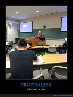PROFESORES - Así da gusto ir a clase