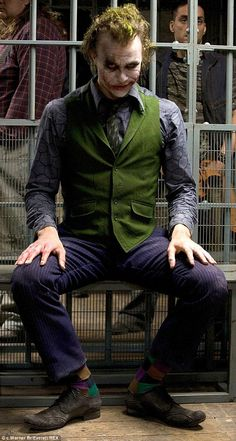 Lasting memory: In 2009 the 28-year-old was awarded a posthumous Oscar for his role as the Joker in The Dark Knight