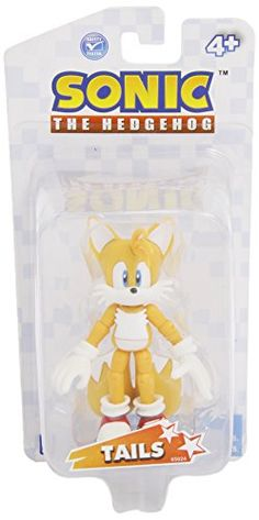Sonic the Hedgehog Exclusive 3.5 Inch Action Figure Miles Tails Prower @ niftywarehouse.com