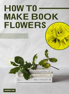 How to Make Book Flowers from Book Riot | BookRiot.com | #crafting #books #bookish #DIY