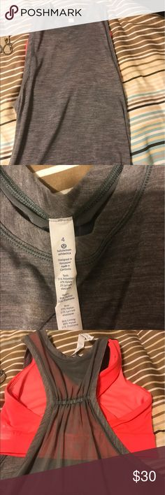 Lululemon tank with built in bra New without tags lululemon size 4 tank with built in bra lululemon athletica Other