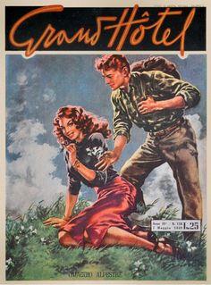 Grand Hotel Magazine (Italy), 7 May 1949. Cover art: Giulio Bartoletti