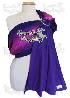 Pink/Purple Ombre SweetPea Ring Sling  Cotton http://www.sweetpearingsling.com/premiumslings.htm
