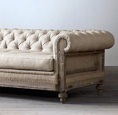 Chesterfield sofa - via ebay - Restoration Hardware