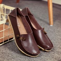 Big Size Soft Multi-Way Wearing Pure Color Flat Loafers is cheap and comfortable. There are other cheap women flats and loafers online. Loafers Online, Loafers For Women, Ladies Loafers, Oxford Shoes, Flat Shoes, Women's Shoes, Types Of Shoes, Womens Flats, Loafer Flats