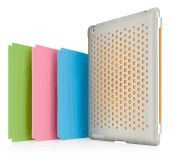 #Belkin International's Snap Shield Perforation case provides #iPad 2 users with full access to all of the controls and ports, while providing scratch- and impact-resistant protection. The case features a unique perforated pattern on its back surface to enables users to swap out different colored inserts. The variety of colors is made possible thanks to Bayer color #technologies.