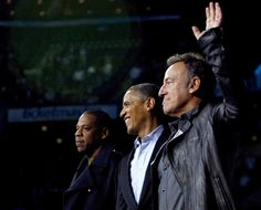 US Elections: Bruce Springsteen and Jay-Z perform for Barack Obama - Photo 1 | Celebrity news in hellomagazine.com