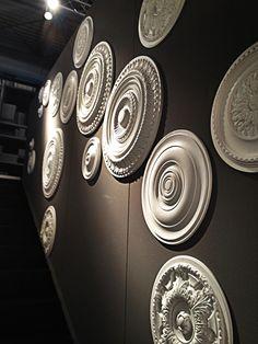 Ceiling Medallions Via Olivieri Booth