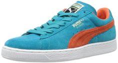 Puma Suede Classic+, Unisex-Erwachsene Sneaker, Blau (Bluebird/Tigerlily), 45 EU - http://autowerkzeugekaufen.de/puma/45-eu-puma-suede-classic-unisex-erwachsene-rot-45
