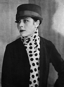 Djuna Barnes (1892–1982) was an American writer who played an important part in the development of 20th century English language modernist writing and was one of the key figures in 1920s and 30s bohemian Paris. Her novel Nightwood became a cult work of modern fiction, helped by an introduction by T. S. Eliot. It stands out today for its portrayal of lesbian themes and its distinctive writing style.