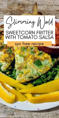 Slimming world sweetcorn fritter recipe great for a packed lunch Syn Free Snacks, Syn Free Food, Sweetcorn Fritters Recipe, Slimming World Lunch Ideas, Homemade Chips, Speed Foods, Thing 1, Frozen Vegetables, Food Goals