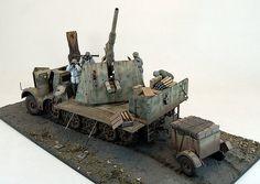 8,8cm Flak 37 (Sf) auf Zugkraftwagen 18t