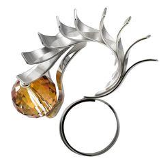 Dragon : Ring, Silver&Swarovski Elements. OSTROWSKI-DESIGN 2010.