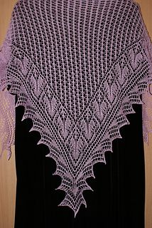 Flying Doves Shawl
