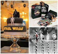 Star Wars themed birthday party via Kara's Party Ideas