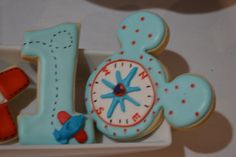 Mickey mouse-Aviator 1st Birthday    CatchMyParty.com