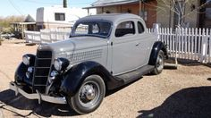 1935 Ford 5-window coupe. The car to have if you can play a trumpet and look good in a fedora.