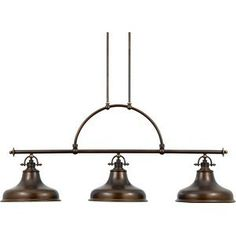 Buy the Quoizel Palladian Bronze Direct. Shop for the Quoizel Palladian Bronze Emery 3 Light Wide Linear Chandelier with Metal Warehouse Shades and save. Industrial Chandelier, 3 Light Chandelier, Linear Chandelier, Ceiling Pendant, Pendant Lighting, Ceiling Lights, Industrial Lighting, Table Lighting, Lighting Ideas