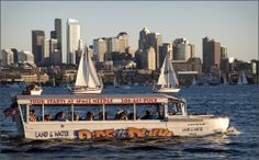 Ride the Ducks of Seattle - Land and Sea Tour!