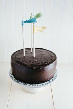 Hummingbird High: Chocolate Crème Fraîche Cake (a.k.a. the BEST chocolate cake EVER)