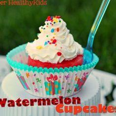 alternative to cupcakes- watermelon cupcakes