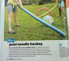 Balloon Race, Pool Noodles, Winter Games, Party Ideas, Racing, Running, Auto Racing, Ideas Party