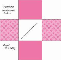 Flores Rosas – Mini Kit com molduras para convites, rótulos para guloseimas, lembrancinhas e imagens! |Fazendo a Nossa Festa
