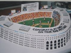 yankee stadium cake.