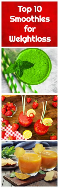 The top ten smoothies for weight loss from All Nutribullet Recipes. These weight loss smoothie recipes cover a variety of flavors and ingredients so there is a perfect recipe here for everyone.