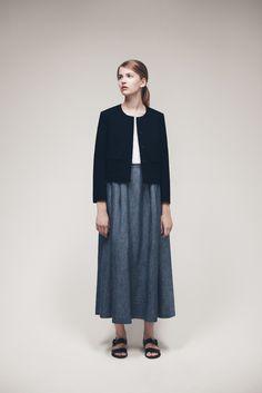 Twinda Jacket, Romia Sweater and Raisa Skirt | Samuji SS15 Classic Collection