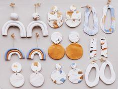 Diy Christmas Earrings underneath Diy Earrings Cleaner as Oliver Jewellery Near Me; Jewellery Shop Near Me Open Now, Jewellery Ki Photo Diy Clay Earrings, Earrings Handmade, Handmade Jewelry, Gold Earrings, Gold Bracelets, Unique Earrings, Polymer Clay Crafts, Polymer Clay Jewelry, Diy Craft Projects