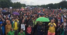Germany: Thousands Surround US Air Base to Protest the Use of Drones | Common Dreams | Breaking News & Views for the Progressive Community